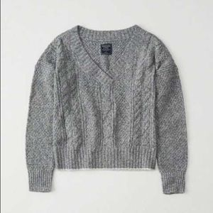 Abercrombie & Fitch V Neck Sweater NWOT